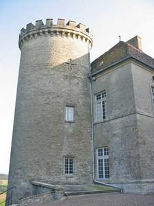 Une tour du château de Ray sur Saône