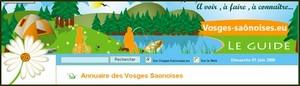 Annuaire du tourisme des Vosges-Saônoises